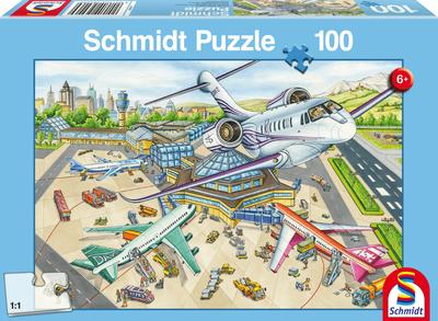 Een dag op het vliegveld - Puzzel (100)