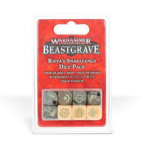 Warhammer Underworlds: Beastgrave - Rippa's Snarlfangs (Dice Pack)