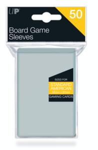 Ultra Pro Board Game Sleeves: American Standard (56x87mm) - 50 stuks