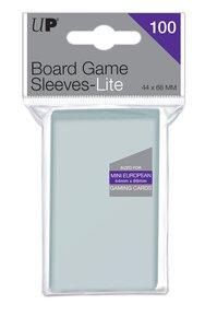 Ultra Pro Lite Board Game Sleeves: Mini European (44x68mm) - 100 stuks