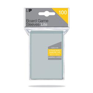 Ultra Pro Lite Board Game Sleeves: Standard American (56x87mm) - 100 stuks