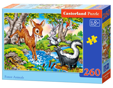 Forest Animals - Puzzel (260)