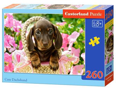 Cute Dachshund - Puzzel (260)