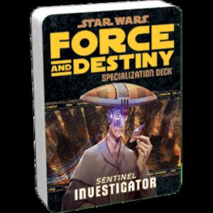 Star Wars: Force and Destiny - Investigator (Specialization Deck)