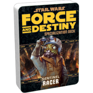 Star Wars: Force and Destiny - Racer (Specialization Deck)