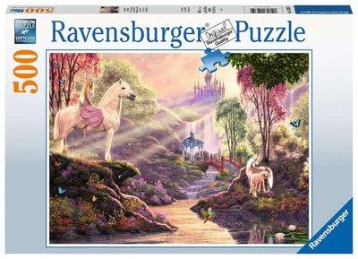 Sprookjesachtige idylle bij de rivier - Puzzel (500)