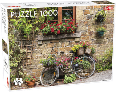 Flowers at the Wall - Puzzel (1000)