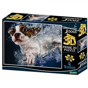 Underwater Dogs - Prime 3D Puzzle (100)