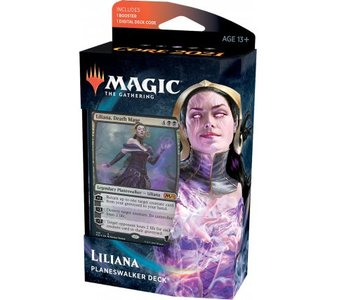 MTG: Core Set 2021 Planeswalker Deck (Liliana)