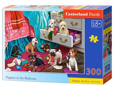 Puppies in the Bedroom - Puzzel (300)