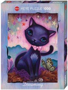 Black Kitty - Puzzel (1000)