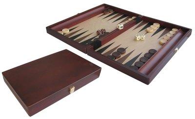 Backgammon (Bruin Hout)
