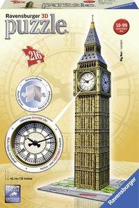 Big Ben mét klok - 3D Puzzel (216)