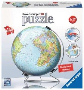 Worlds Globe - 3D Puzzel (550)