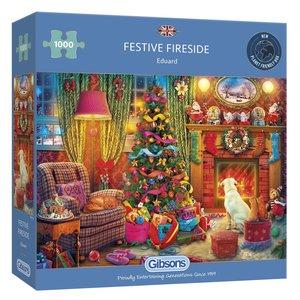 Festive Fireside - Puzzle (1000)
