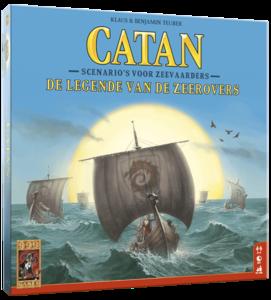 Catan: Legende van de Zeerovers (Uitbreiding)