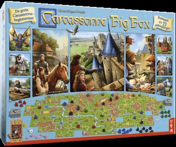 Carcassonne Big Box 999 Games