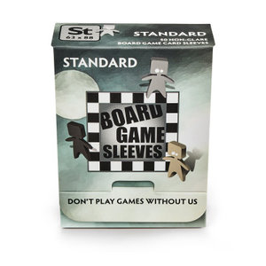 Board Game Sleeves (Non-Glare): Standard (63x88mm) - 50
