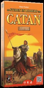 De Kolonisten van Catan: Steden en Ridders (Uitbreidingsset 5/6 spelers)