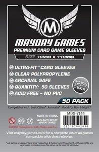 Mayday Card Sleeves (Premium): Magnum Ultra Fit (70x110mm) - 50 stuks