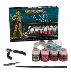 Warhammer: Age of Sigmar - Paints & Tools Set