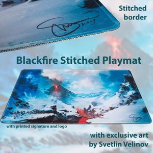 Blackfire Ultrafine Stitched Playmat - Svetlin Velinov Edition (Mountain)