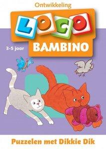 Bambino Loco - Puzzelen met Dikkie Dik (3-5 jaar)