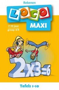 Maxi Loco - Tafels 1-10 (7-10 jaar)