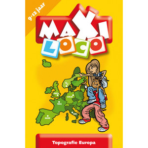 Maxi Loco - Topografie Europa (9-12 jaar)