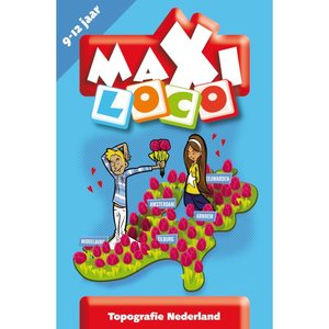 Maxi Loco - Topografie Nederland (9-11 jaar)