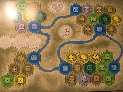 Promo The Castles of Burgundy: 10th Expansion 'Solo'