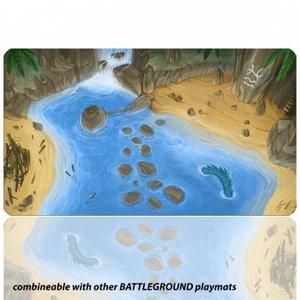 Blackfire Ultrafine Playmat: Battleground Edition (Island)