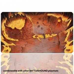 Blackfire Ultrafine Playmat: Battleground Edition (Mountain)
