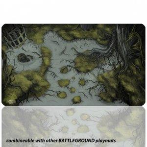 Blackfire Ultrafine Playmat: Battleground Edition (Swamp)