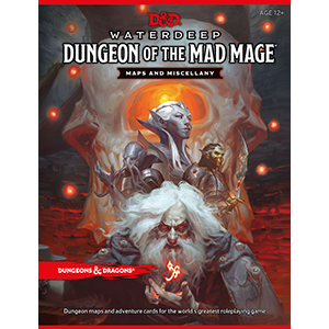 Dungeons & Dragons: Waterdeep - Dungeon of the Mad Mage (Maps and Miscellany)