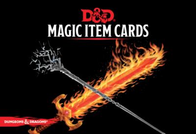 Dungeons & Dragons: Magic Item Cards