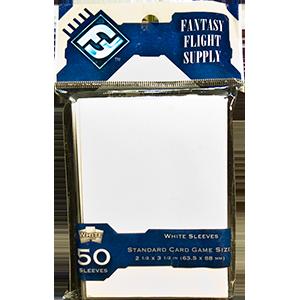 Fantasy Flight Game Sleeves (White): Standard (63,5x88mm)