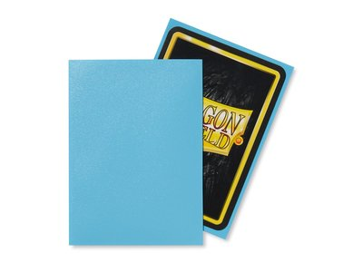 Dragon Shield Card Sleeves: Standard Matte Baby Blue (63x88mm)