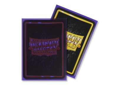 Dragon Shield Card Sleeves: Standard Matte Clear Purple (63x88mm)
