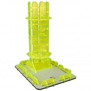 Blackfire Dice Tower (Peridot Twister)