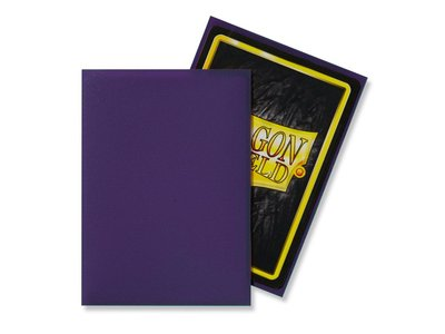 Dragon Shield Card Sleeves: Standard Matte Purple (63x88mm)