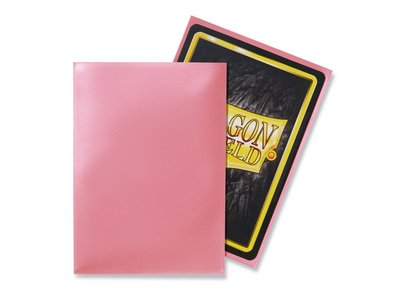 Dragon Shield Card Sleeves: Standard Pink (63x88mm)