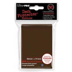 Ultra Pro Board Game Sleeves: Standard Brown (66x91mm) - 50 stuks