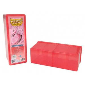 Four Compartment Box (Pink)