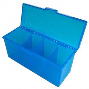4 Compartment Storage Box (Blue)
