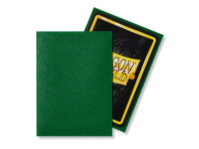 Dragon Shield Card Sleeves: Standard Matte Emerald (63x88mm)
