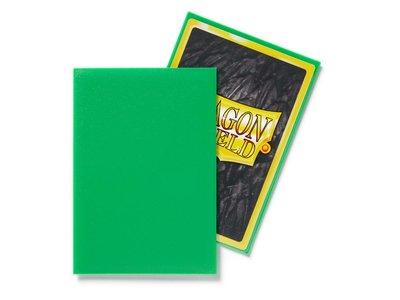 Dragon Shield Card Sleeves: Japanese Matte Apple Green (59x86mm)