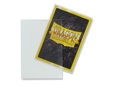 Dragon Shield Card Sleeves: Japanese Matte Clear (59x86mm)