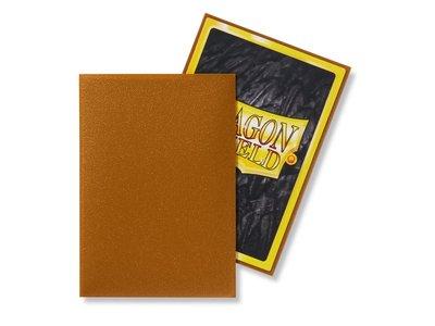 Dragon Shield Card Sleeves: Japanese Matte Gold (59x86mm)