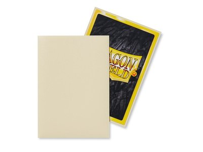 Dragon Shield Card Sleeves: Japanese Matte Ivory (59x86mm)